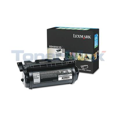 LEXMARK X850E MFP RP TONER CTG BLACK TAA 21K